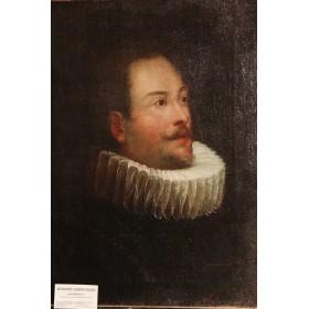 """Антикварная картина """"Портрет вельможи"""" XVII век"""