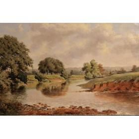 Старинная картина П. Дж. Мкаффери