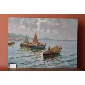 Итальянская школа живописи. Рыбаки