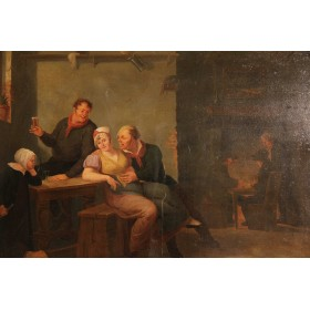 Старинная картина Александр Карс  (Alexander Carse)