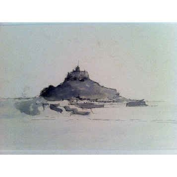 Английский рисунок Пастель Барри Бриско (Barry Briscoe) из серии Виды Италии