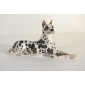 Роял Копенгаген Антикварная статуэтка собаки