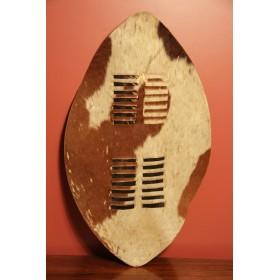 Африканский зулусский кожаный боевой щит