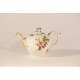 Старинный фарфор Meissen Антикварный чайничек XVIII века