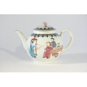 Антикварный фарфоровый чайничек Worcester