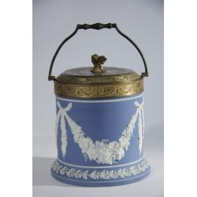 1861 Антикварная конфетница-бисквитница Гирлянда