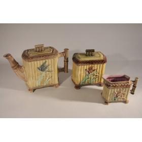 1863 Антикварный чайный сервиз Бамбук