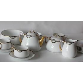 002 Антикварный чайный сервиз фабрики Гарднер в стиле Модерн