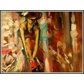 Картины знаменитого художника Эльмиры Мустафиной серия Портрет
