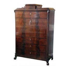 Купить антикварный русский секретер, старинная мебель Ампир