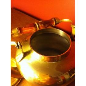 Старинный английский дорожный чайник