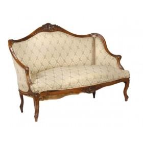Старинный набор мягкой мебели в стиле Людовика XV (Рококо)