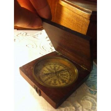 Антикварный морской английский компас