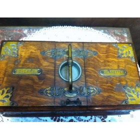 Старинная шкатулка для сигар