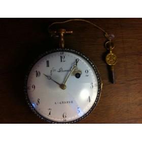 Старинные швейцарские карманные часы