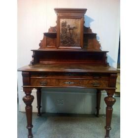 Старинный дамский письменный стол Arts&Crafts Артс энд Крафтс