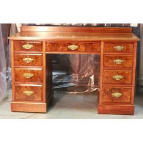 Старинный письменный стол, антикварный английский стол