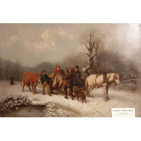 Старинная живопись художника Роберта Фавелле