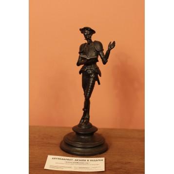 Старинное русское каслинское литье статуэтка Дон Кихота