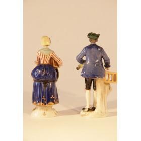 Старинные фарфоровые статуэтки Германия