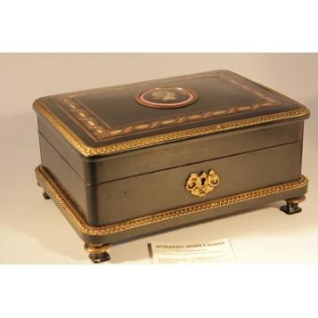 Шкатулка для драгоценностей Франция, начало XIX века