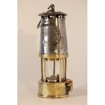 Антикварный английский шахтерский фонарь