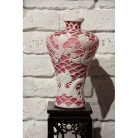 Бейджинское уникальное стекло Бисквитное Ваза Китай