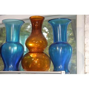 Антикварное Бейджинское стекло Китайские вазы
