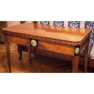 Старинный русский ломберный стол 18 века