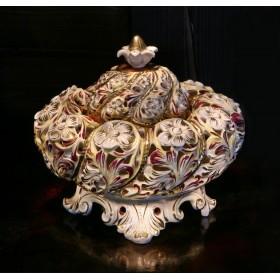 Антикварная Ваза - Чалма Надир-шаха в стиле Capodimonte