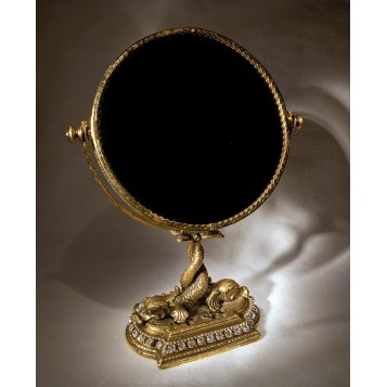 Антикварное будуарное зеркало стиль Модерн