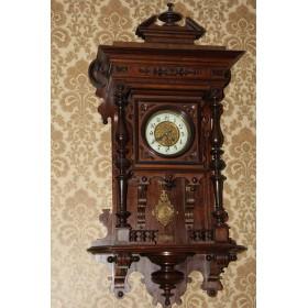 Антикварные немецкие часы LENZKIRCH Million с четвертным боем.