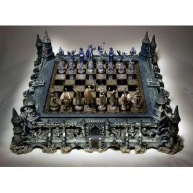 Редкие коллекционные шахматы по рисункам - Michael Whelan  Производитель - Franklin Mint