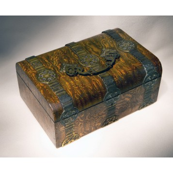 Антикварная шкатулка для принадлежностей Oxford