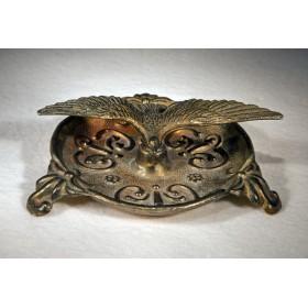 Антикварная пепельница из бронзы Альбатрос - купить в подарок