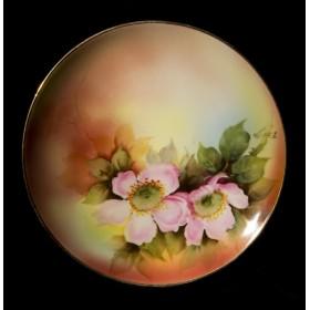 Старинный Набор тарелок Цветы Noritake, восточный антиквариат