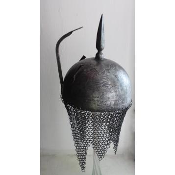 Антикварный старинный шлем Кулах кхуд