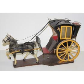 Старинная модель кареты