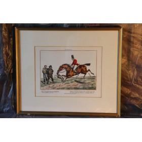 Набор старинных английских гравюр Охота, купить в подарок