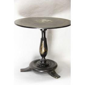 Антикварный столик из папье маше