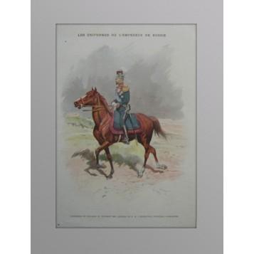 Николай II  в форме лейб-гвардии Уланскаго её величества полка. 1901 год.