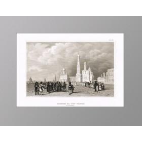 Москва. Колокольня Ивана Великого. 1848 г. Викерс/Маер