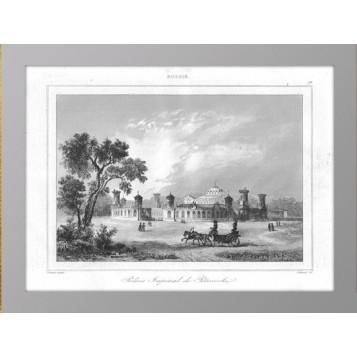 1838 Москва Петровский путевой дворец