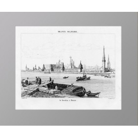 1839 Москва. Кремль и Москва-река