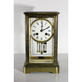 Старинные французские каминные часы 19 века Maple Co