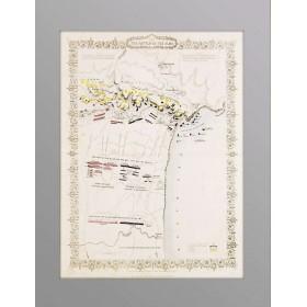 1855 План сражения при Альме