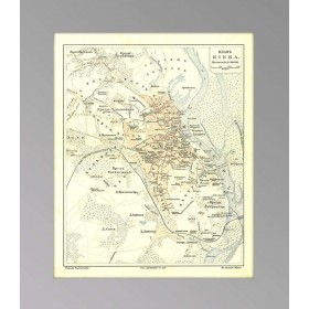 1903 Киев. Антикварный план города