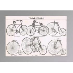 1886 Велосипеды.