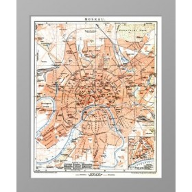 1911 План Москвы Brock
