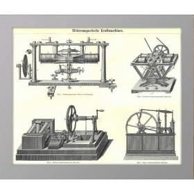 1896 Электромагнитные двигатели Meye
